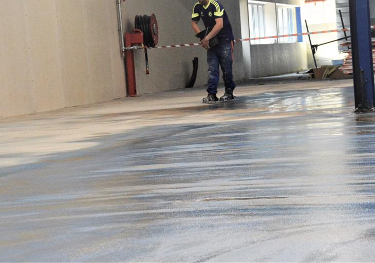Pare-vapeur anti remontée d'humidité